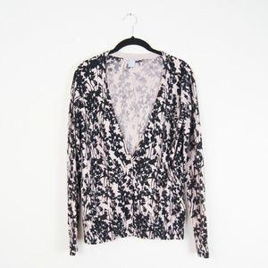 H&M | Black & Beige Cardigan